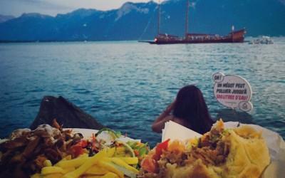 Kebab au bord du lac!