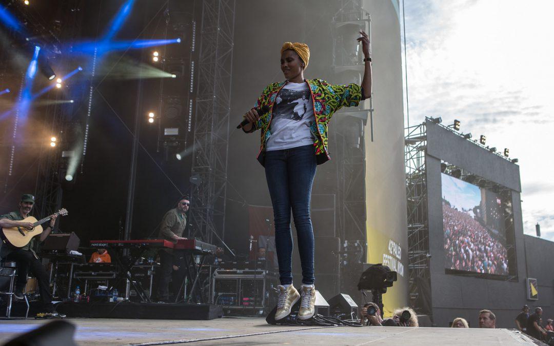 Imany: «investir dans l'espoir plutôt que dans la peur»