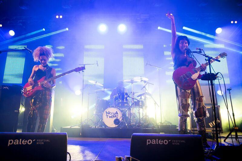 Nova Twins: un air de Camden à Paléo
